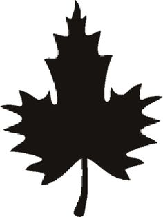 Another leaf stencil for an upcoming project. Leaf Stencil, Stencils, Diy Craft Projects, Diy Crafts, Tin Can Lanterns, 3 Gif, Fall Deco, Moose Art, Leaves