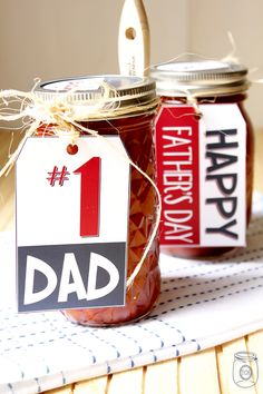 father's day bbq sauce label