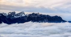 The view of Albs Mount Everest, Mountains, Landscape, Nature, Travel, Naturaleza, Viajes, Scenery, Landscape Paintings
