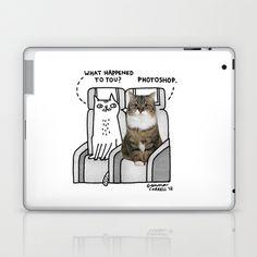 Photoshop Laptop & iPad Skin by Gemma Correll - $25.00