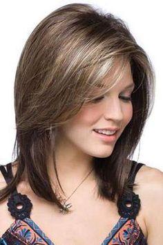 Medium Layered Haircuts, Medium Hair Cuts, Medium Hair Styles, Short Hair Styles, Layered Hairstyles, Gorgeous Hairstyles, Latest Hairstyles, Medium Hairs, Japanese Hairstyles