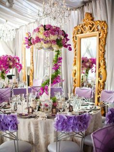 Tangled Theme Wedding Reception Decor