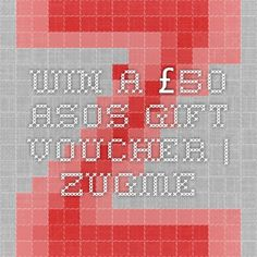 Today is the last day to enter to win a £50 ASOS gift voucher | Zugme  Winner will be announced on Twitter December 4th!