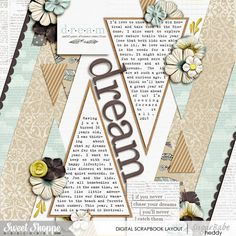 Follow Your Dreams by Lauren Grier, Cindy's Layered Templates - Set 192: Just for Journaling 10 by Cindy Schneider