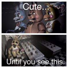 The toys of those chicas (toy chica) Good Horror Games, Horror Video Games, Scary Games, Five Nights At Freddy's, Freddy S, Fnaf Sl, Fnaf Sister Location, Freddy Fazbear, Best Horrors