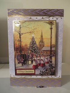 Made By Me  Cards & Layouts: Choir Christmas Card 2 & 3
