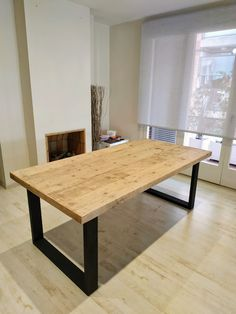 Dining Bench, Furniture, Home Decor, Industrial Style Furniture, Mesas, Wood, Art, Homemade Home Decor, Decoration Home