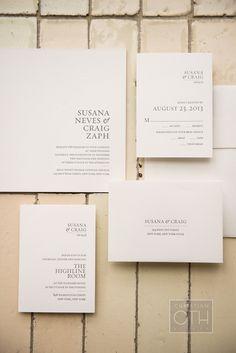 Wedding Invitation | Brilliant Event Planning | Christian Oth Studios