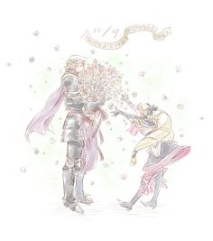 Fire Emblem: If/Fates -  Xander and Elise