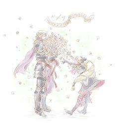 Fire Emblem: If/Fates - Marx and Elise