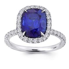 Cushion-Cut-Blue-Sapphire-and-Diamond-Engagement-Ring.jpg 395×395 pixels