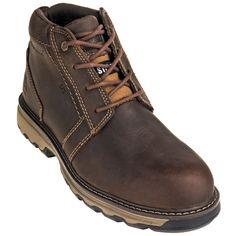 9842df8db8831 Caterpillar Shoes  Men s 90715 Steel Toe Parker ESD Dark Beige Chukka Work  Shoes