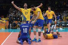 Brasil, campeón olímpico en voleibol masculino | El Puntero