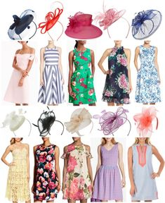 Kentucky Derby Day is coming up and today I'm sharing LOTS of outfit inspiration, including fun fascinators, hats and dresses. Source by collisak dresses idea Tea Party Attire, Tea Party Outfits, Club Outfits, Party Dresses, Kentucky Derby Fashion, Kentucky Derby Outfit, Derby Attire, Derby Outfits, High Tea Outfit