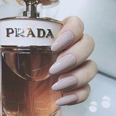 pastel almond nails