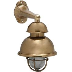 Tuscanor - Industrial Style Cast Bronze Wall Light - TUS53