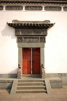 Porte, En Chine