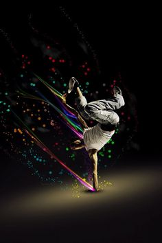 Break dancing with color