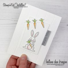 Birthday Cards, Happy Birthday, Beautiful Handmade Cards, Goodie Bags, Party Hats, Diy Cards, Stampin Up Cards, Easter Bunny, Stamping