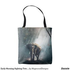 Early Morning Sighting Tote Bag