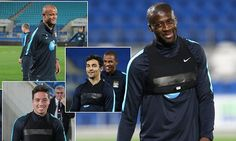 Manchester City stars are all smiles during pre-season in Australia #DailyMail