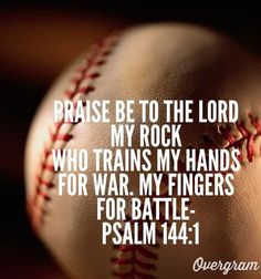 Baseball psalm by meganinja