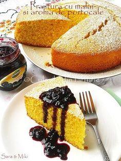 Orange and corn cake; Corn Cakes, Cornbread, French Toast, Sweets, Cooking, Breakfast, Ethnic Recipes, Desserts, Moldova