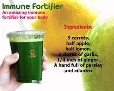 Immune Fortifier Juice - Weight Loss Juices