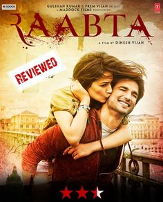Movie review of Raabta- Dinesh Vijan's reincarnation flick will leave audience in confusion. http://bit.ly/2s4pTVd #Raabta #moviereview #movie
