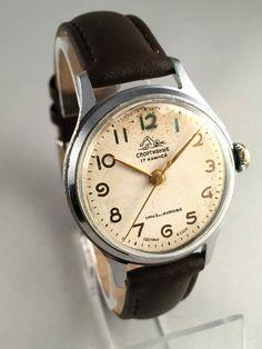 RARE Vintage Soviet Men's SPORTIVNIE Watch w/ Hack by SovietEmpire