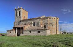 #Arenillas de #Villadiego #Burgos Iglesia de #SanMartín de #Tours , #románico en la comarca de #Odra #Pisuerga