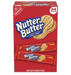 Peanut Butter Sandwich Cookies, Nutter Butter Cookies, Oreo Cookies, Chocolate Wafers, Chocolate Chip Cookies, Nabisco Oreo, Oatmeal Cream, Savory Snacks, Sandwiches