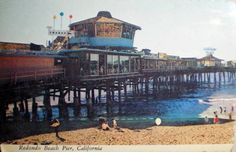 REDONDO BEACH PIER 1970s by Ron Felsing, via Flickr