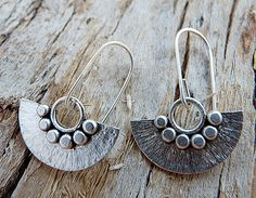 Sterling Silver Earrings by Kailajewellery on Etsy
