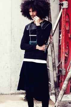 Model: Yassine Rahal  Photography: Ricky Thomason  Stylist: Laura Girbal