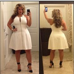 """, #curvy #sexy #thick  Classic and gorgeous curvy woman <3     """"if you like my curvy girl's fall/winter closet, make sure to check out my curvy girl's spring/summer closet.""""   http://pinterest.com/blessedmommyd/curvy-girls-springsummer-closet/pins/"""