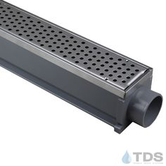 NEW from TDS - The MAX Mini is excellent for light duty applications including residential pools, concrete and paver patios, spas and tennis courts. Buy yours online, or call us at Trench Drain Systems, Handicap Bathroom, Spas, Pools, Concrete, Tennis, Swimming, Stainless Steel, Mini