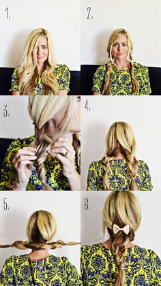 The Shine Project: Pigtail Double Braid Hair Tutorial