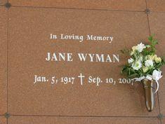 Jane Wyman (Actress) 1917-2007 Academy Award Winner was also married to Ronald Reagan