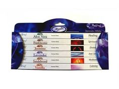 Stamford Moods Incense Gift Pack:  1 Set x 6 packs (8 sticks per pack) Made in India Assorted Fragrances A great alternative to Fragrance Oils or Candles Great Gift & Premium Quality