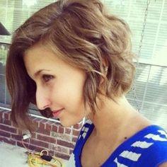 Natural Wavy Hair With Short Wavy Bob Hairstyles - Women Short ...