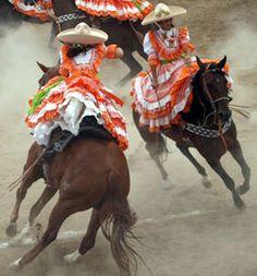 Charreada mexicana