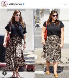 Como montar looks plus size estiloso. A moda é para todas, independente do manequim é possível se vestir de maneira estilosa, criativa e moderna. Dress Like Celebrity, Celebrity Outfits, Celebrity Look, Moda Chic, Moda Boho, Looks Plus Size, Plus Size Model, Fashion Moda, Curvy Fashion