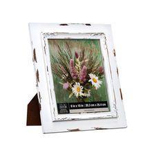 Studio Décor® Viewpoint Savannah Rustic Frame, White