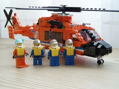 Coast Guard helicopter #flickr #LEGO #chopper