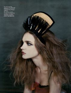 Natalia Vodianova | Vogue Russia March 2008