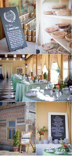 Mt. Hood Organic Farm Wedding by Geranium Lake Flowers | Style Me Pretty