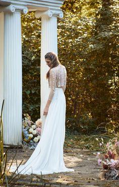The Fairy top and the Dusk skirt / Nora Sarman Bridal