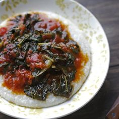 Chipotle Winter Greens & Buttermilk Grits