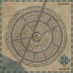 Zandria by Sapiento on DeviantArt Fantasy City Map, Fantasy World Map, Fantasy Places, Doodle Tattoo, Dungeon Maps, Dungeons And Dragons Homebrew, Environment Concept Art, Map Design, City Maps